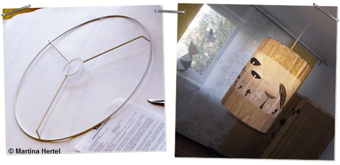bastelanleitung lampenschirm mit lieblingsstoff selber machen. Black Bedroom Furniture Sets. Home Design Ideas