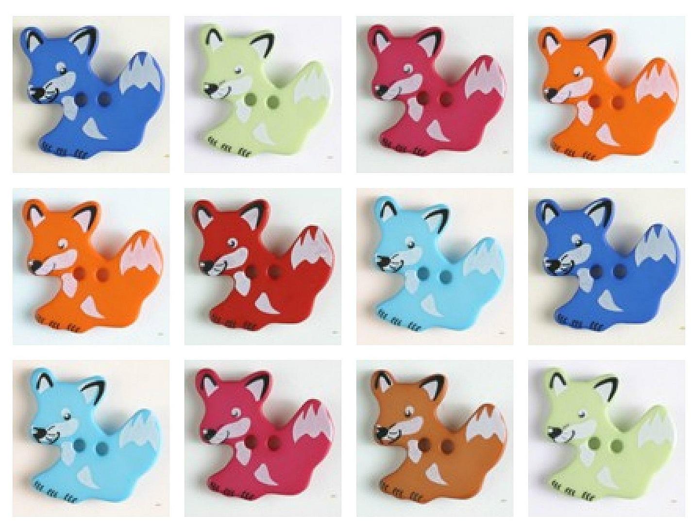 Fuchsknöpfe in vielen Farben